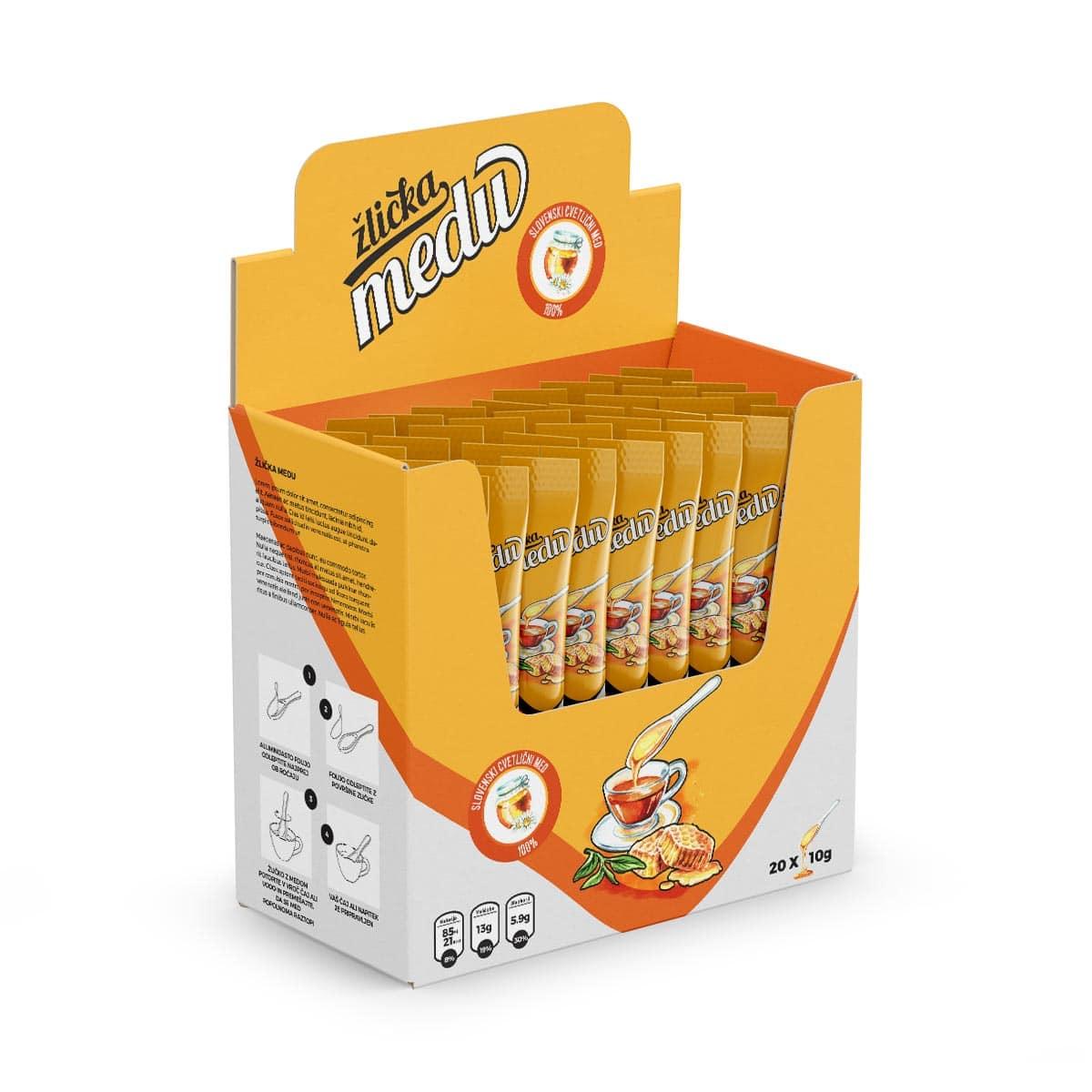 Večje pakiranje v škatli brez dodanega okusa