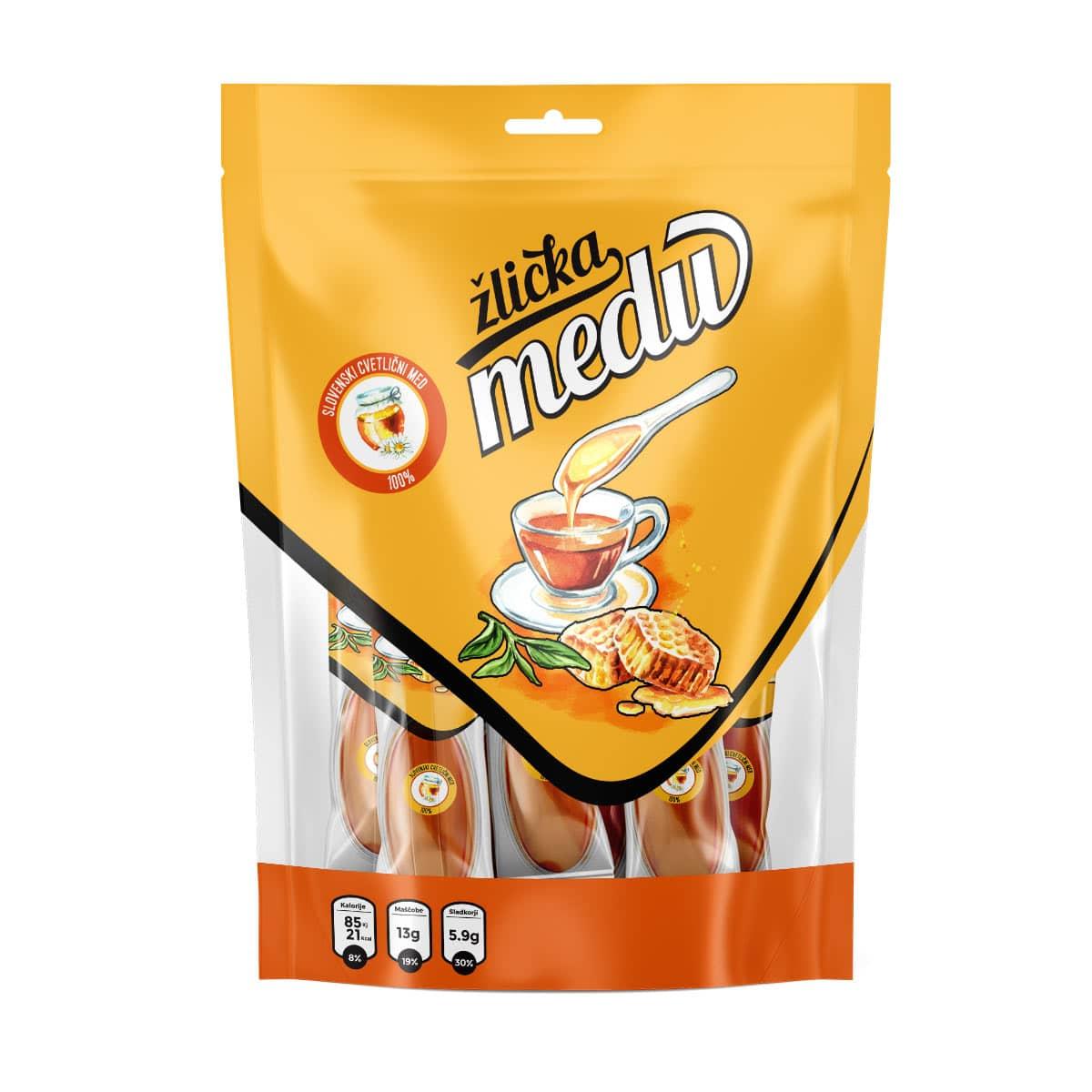 Manjše pakiranje v vrečki brez dodanega okusa