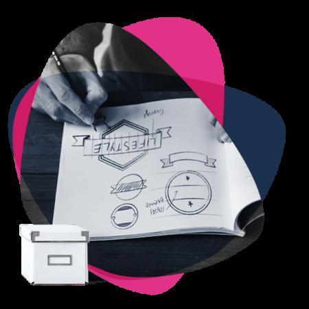 Grafično oblikovanje, cgp, oblikovanje logotipa