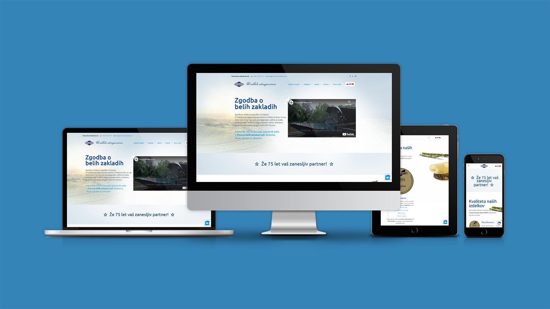 Oblikovanje spletne strani v odzivnem dizajnu