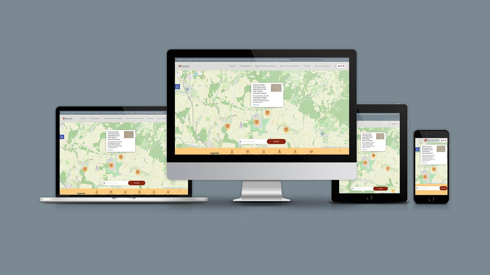 kreativne ideje e documenta pannonica izdelava spletne strani