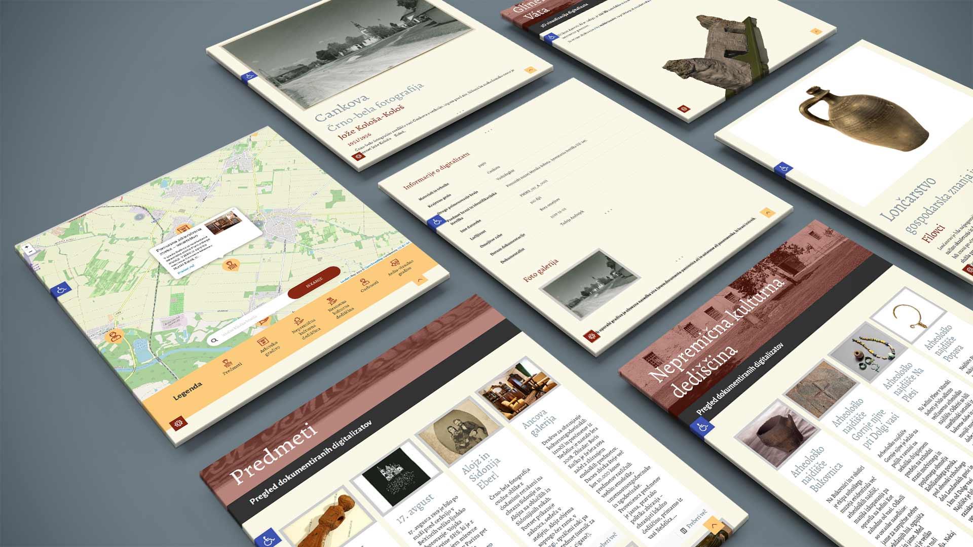 kreativne ideje reference e documenta panonnica struktura spletnih strani