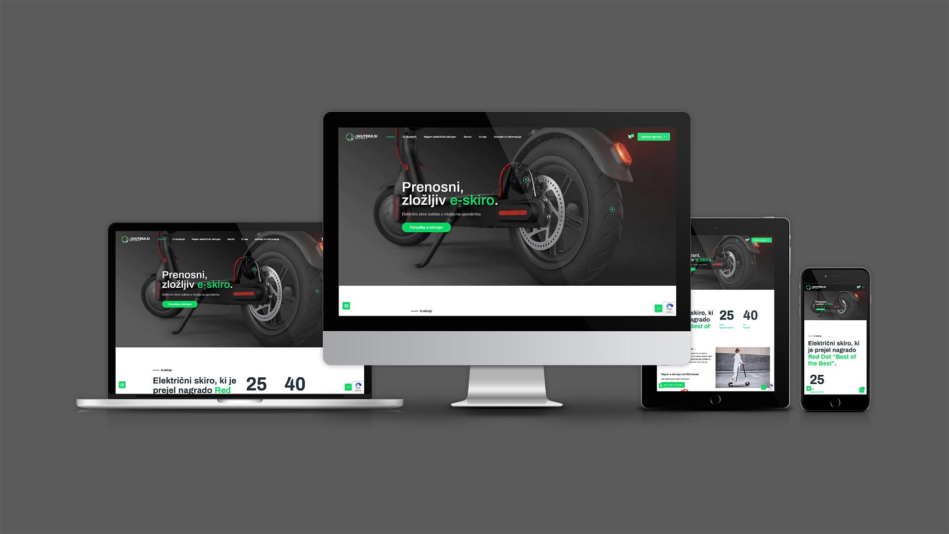 kreativne ideje reference e skuterji izdelava spletne strani spletne trgovine