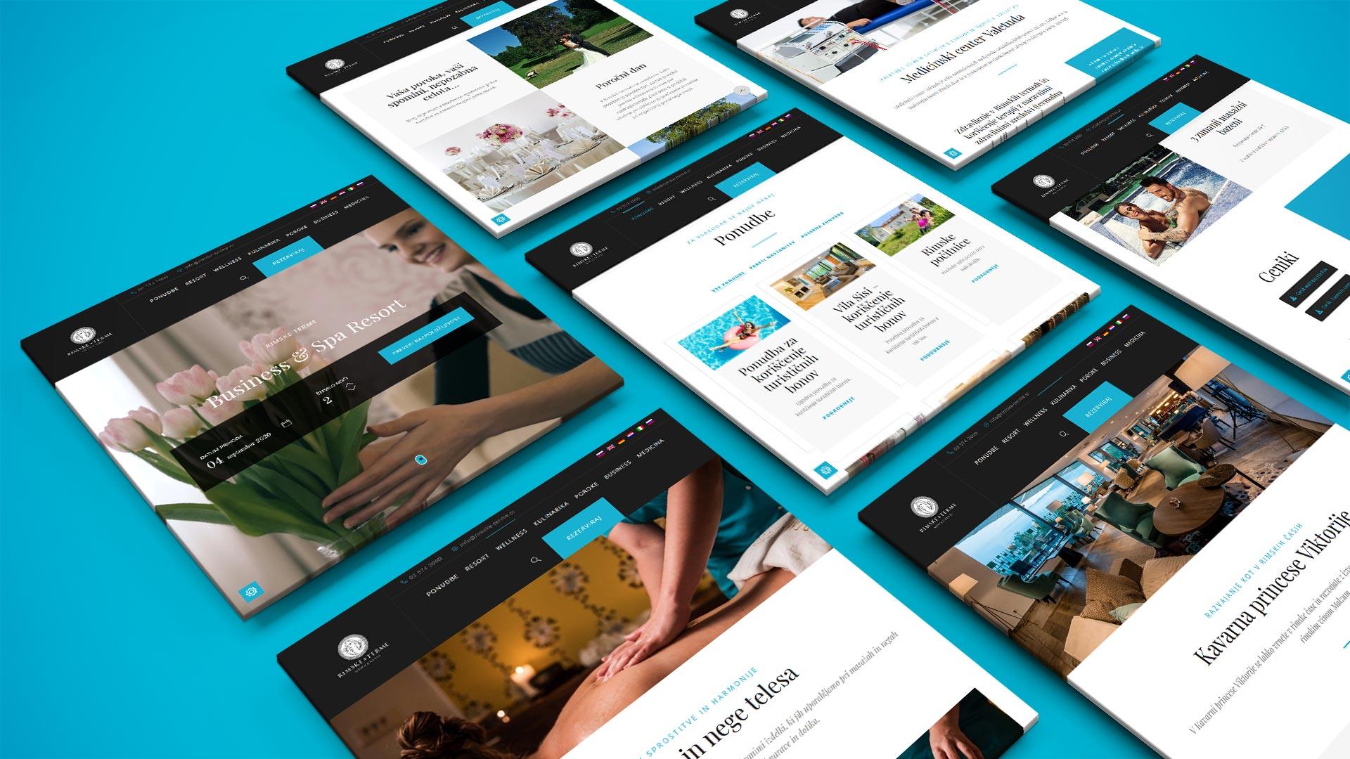 Prikaz strukture spletnih strani